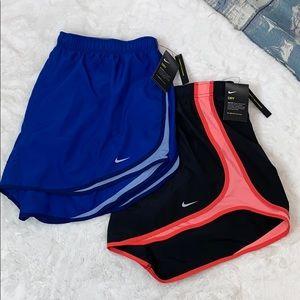 Nike women's 2 pc dri-fit running shorts plus 3X